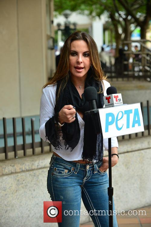 Kate del Castillo PETA Press Conference
