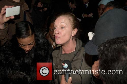Carol Duggan, aunt of the late Mark Duggan,...