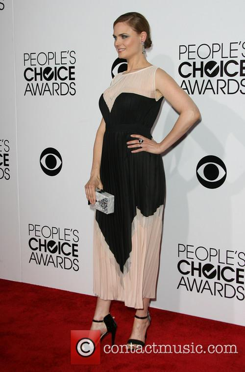 Emily Deschanel, Nokia Theatre L.A. Live, Peoples Choice Awards