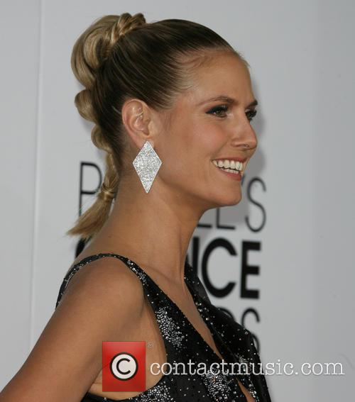 Heidi Klum, Nokia Theatre L.A. Live, Peoples Choice Awards