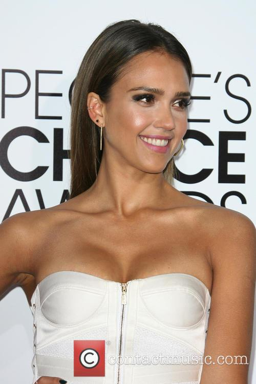 Jessica Alba, Nokia Theatre L.A. Live, Peoples Choice Awards