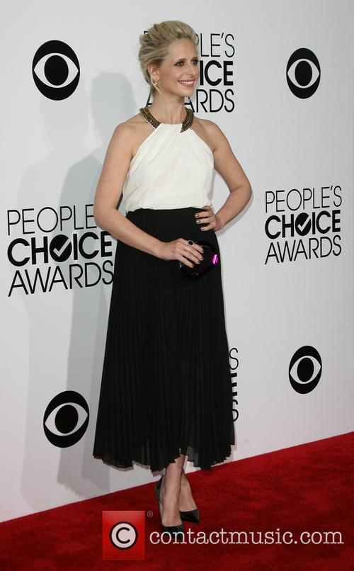 Sarah Michelle Gellar, Nokia Theatre L.A. Live, Peoples Choice Awards