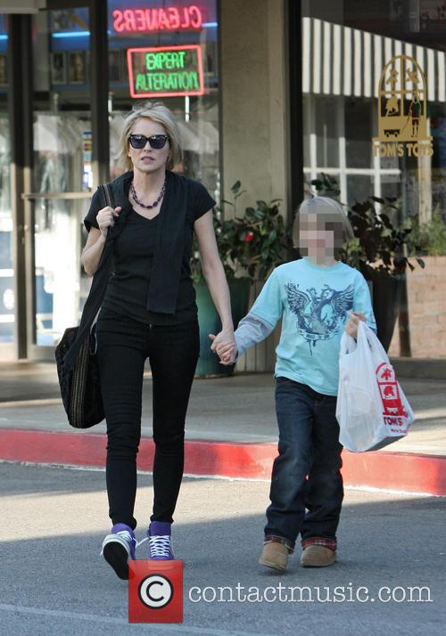 Sharon Stone and Quinn Kelly Stone 4