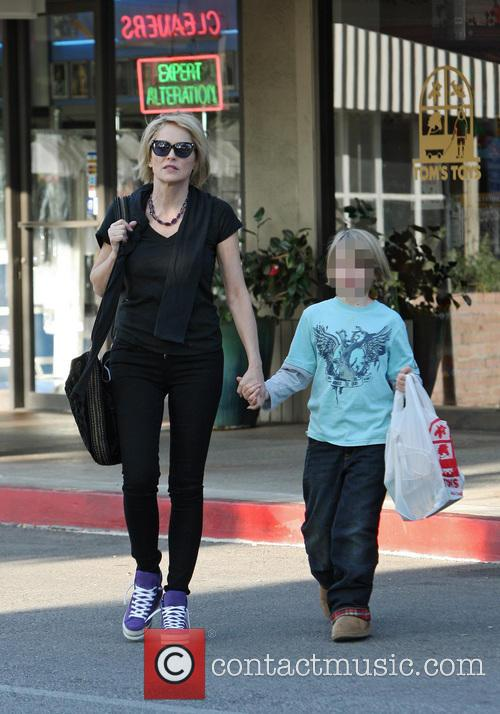 Sharon Stone and Quinn Kelly Stone 5