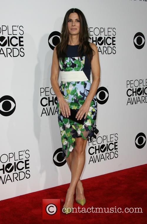 Sandra Bullock, Nokia Theatre L.A. Live, Peoples Choice Awards