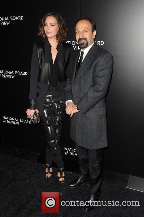 Berenice Bejo and Asghar Farhadi 2