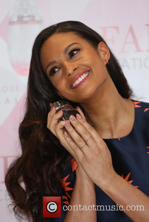 Alesha Dixon launches her fragrance 'Alesha Rose Quartz'