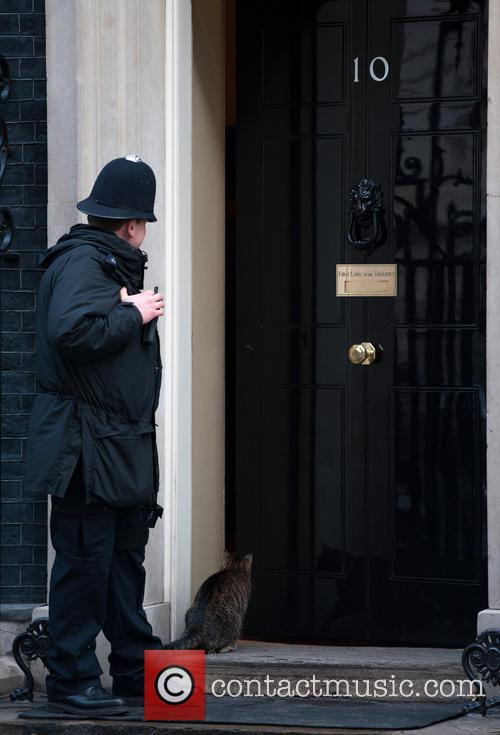 David Cameron leaves for PMQ