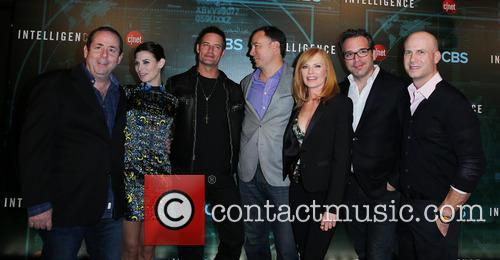 Barry Schindel, Meghan Ory, Josh Holloway, Guest, Marg Helgenberger, Michael Seitzman and Tripp Vinson