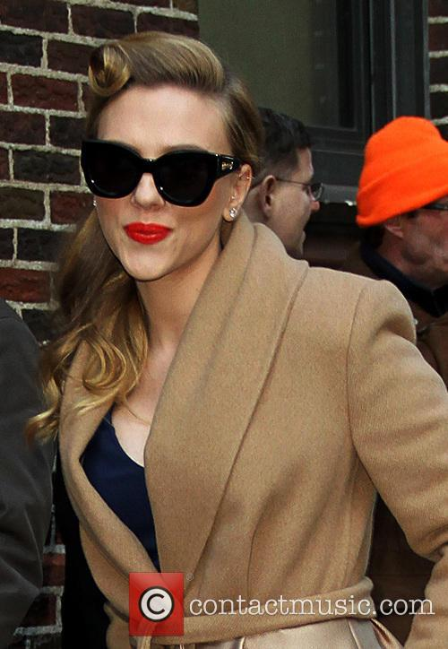 Scarlett Johansson, Late Show With David Letterman