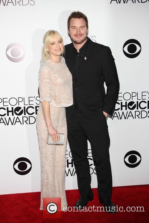 Anna Faris and Chris Pratt 5