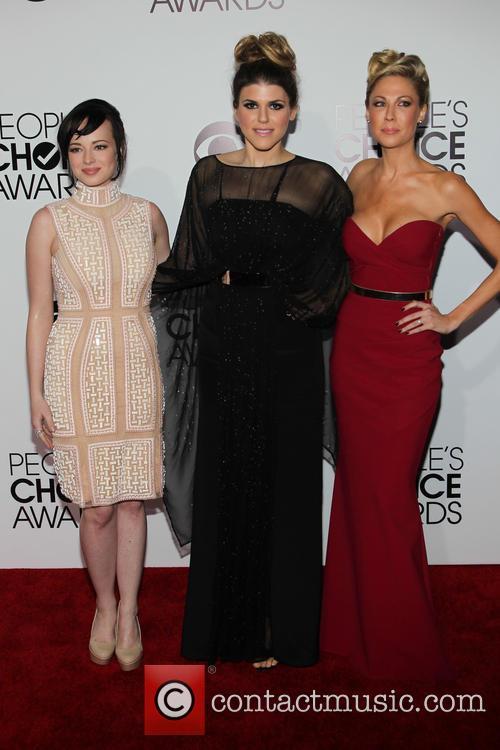 Ashley Rickards, Molly Tarlov and Desi Lydie 3