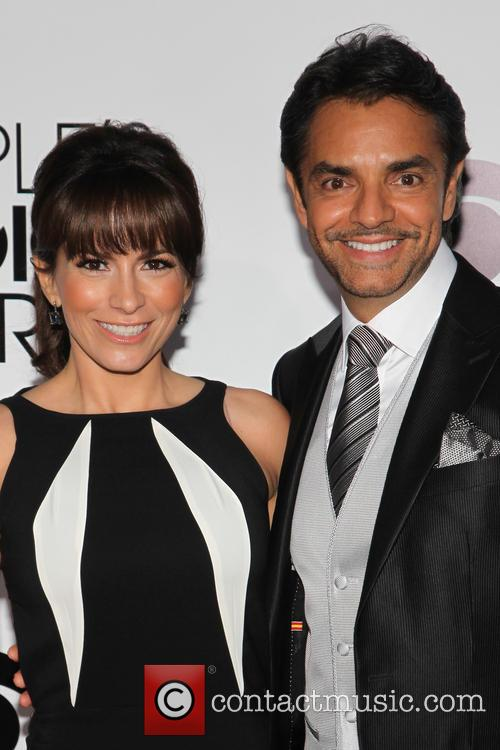 Eugenio Derbez and Alessandra Rosaldo 1