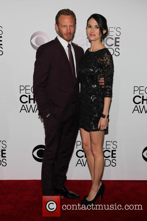 Ian Ziering, Erin Kristine Ludwig, Nokia LA Live, Peoples Choice Awards, LA Live