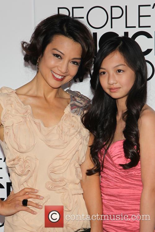 Ming-Na Wen, Michaela Zee, Nokia LA Live, Peoples Choice Awards, LA Live