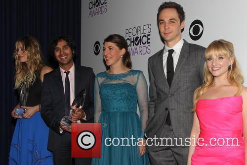 Kaley Cuoco, Kunal Nayyar, Mayim Bialik, Jim Parsons and Melissa Rauch 2