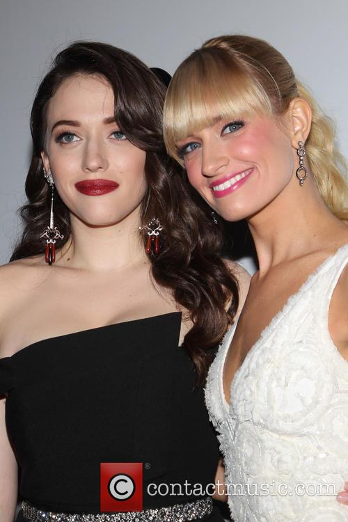 Kat Dennings and Beth Behrs 2
