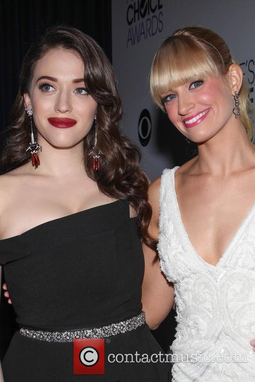 Kat Dennings and Beth Behrs 9