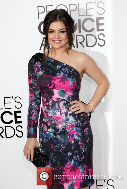 Lucy Hale, Nokia L.A. Live, Annual People's Choice Awards