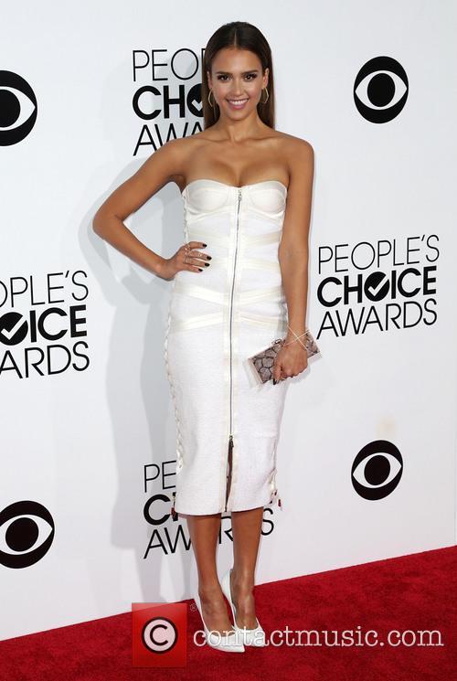 Jessica Alba, Nokia .LA. Live, Annual People's Choice Awards