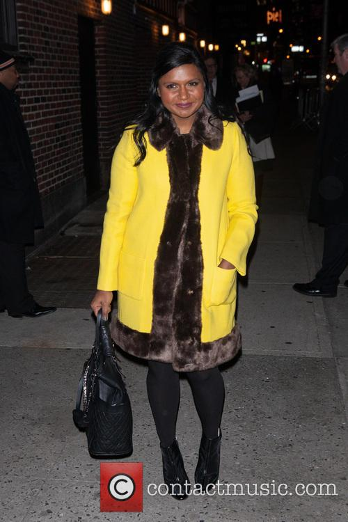mindy kaling late show with david letterman 4016107