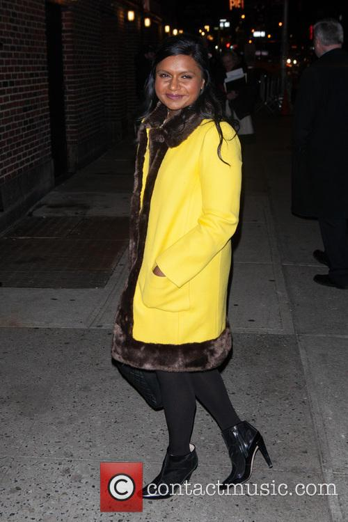 mindy kaling late show with david letterman 4016116