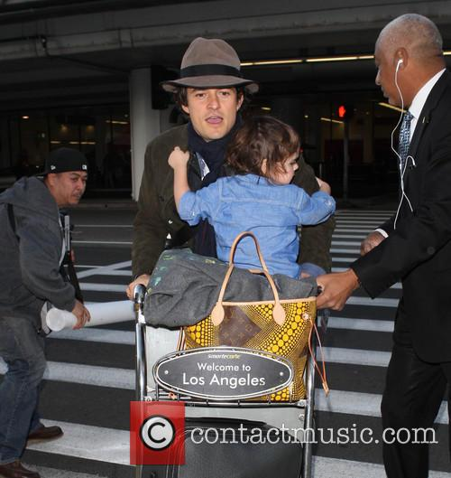 Orlando Bloom At LAX