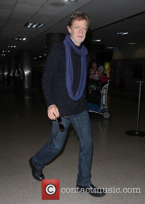 William H. Macy At LAX