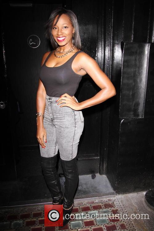 jamelia celebrities attend a party hosted by 4017110