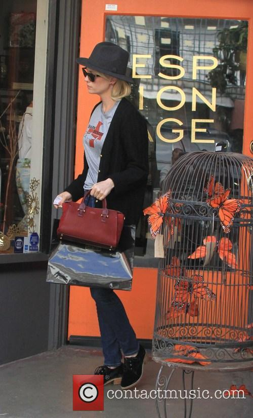 January Jones out and about in West Hollywood