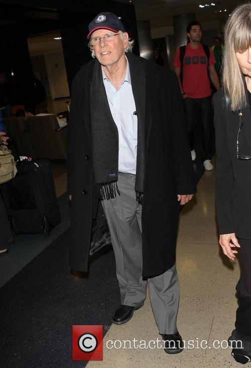 Bruce Dern arriving at LAX