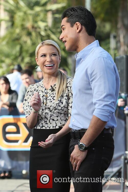Tracy Anderson and Mario Lopez 7