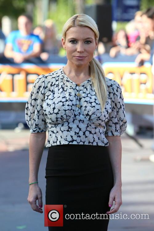 Tracy Anderson at Universal Studios for Extra!