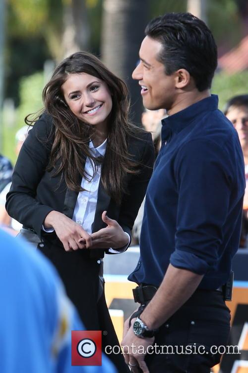 Nina Dobrev and Mario Lopez 11