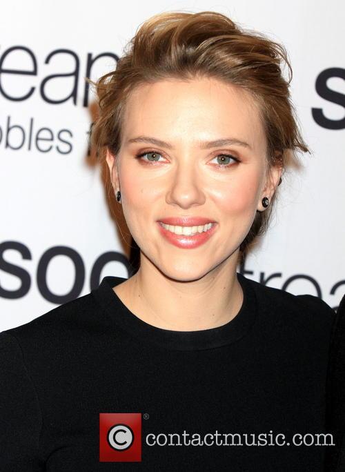 Scarlett Johansson, SodaStream Event