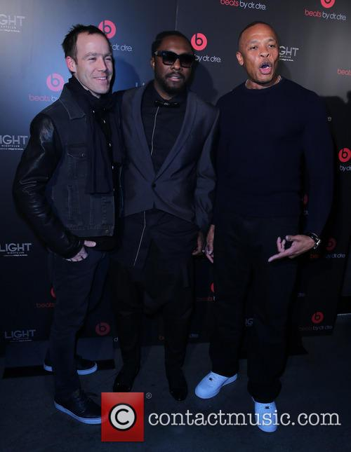 Luke Wood, Will I Am and Dr Dre 2