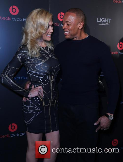 Dr Dre and Nicole Threatt 2
