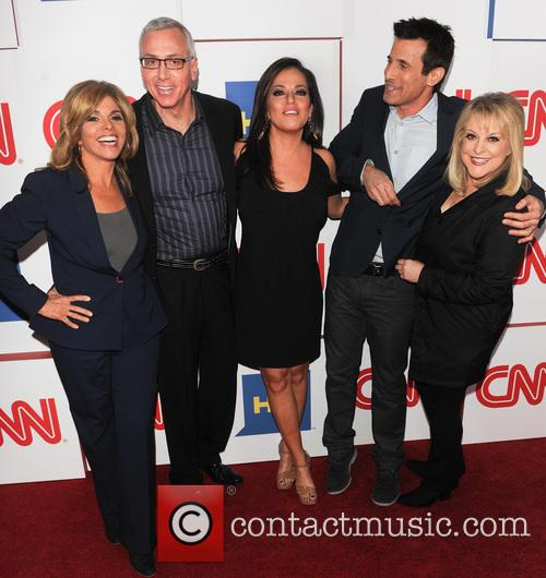 Jane Velez-mitchell, Dr Drew, Robin Meade, A.j. Hammer and Nancy Grace 2