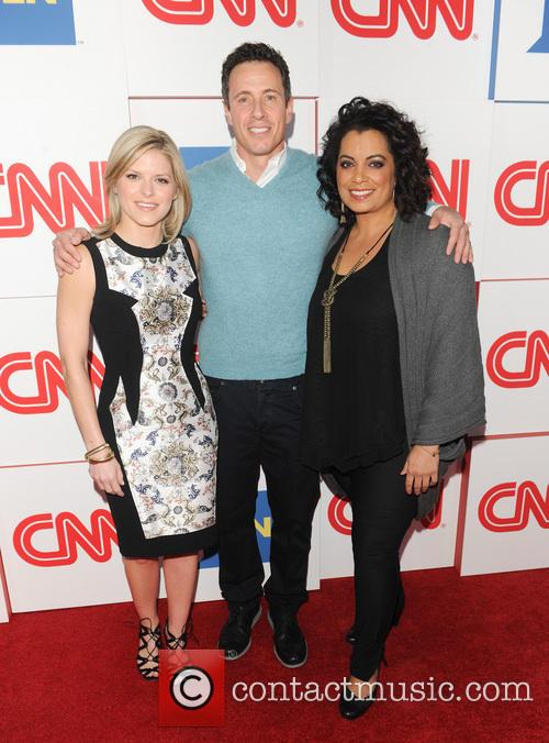 Kate Bolduan, Chris Cuomo and Michaela Pereira 4