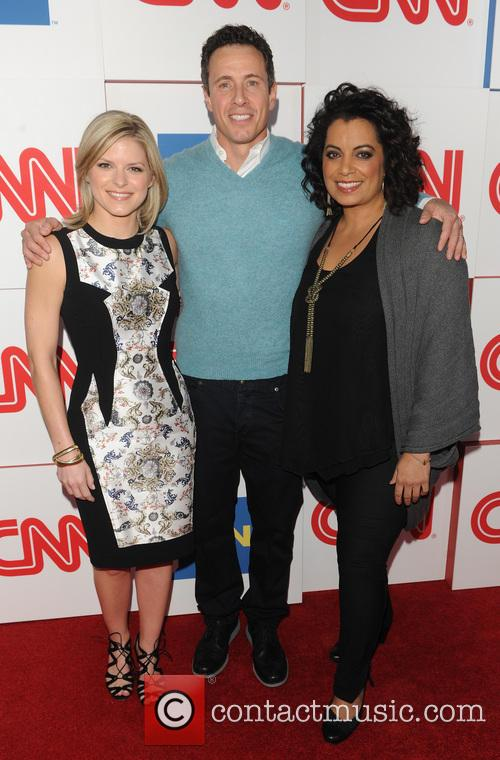Kate Bolduan, Chris Cuomo and Michaela Pereira 7