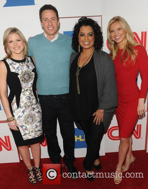 Kate Bolduan, Chris Cuomo, Michaela Pereira and Indra Petersons 3
