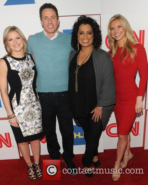 Kate Bolduan, Chris Cuomo, Michaela Pereira and Indra Petersons 6