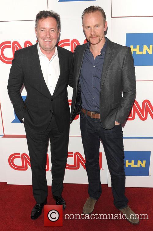 Piers Morgan and Morgan Spurlock 2