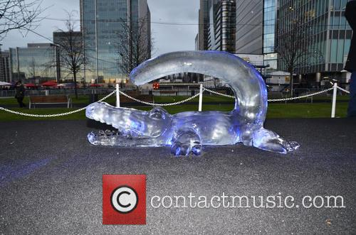 London Ice Sculpting Festival 2014