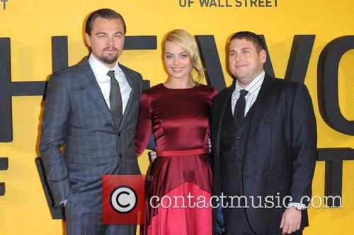 Margot Robbie, Leonardo Dicaprio and Jonah Hill 4