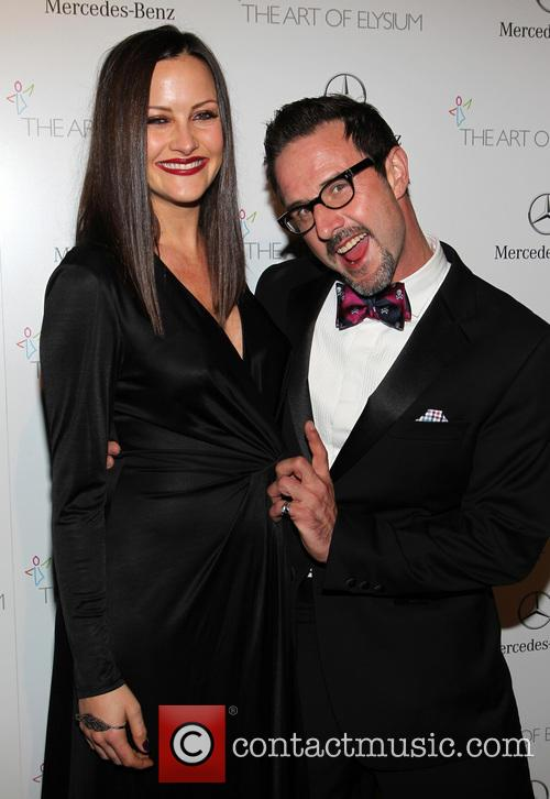 Christina Mclarty and David Arquette 11