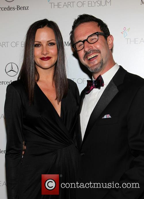 Christina Mclarty and David Arquette 1