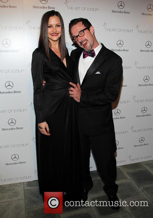 Christina McLarty, David Arquette, Guerin Pavilion at the Skirball Cultural Center