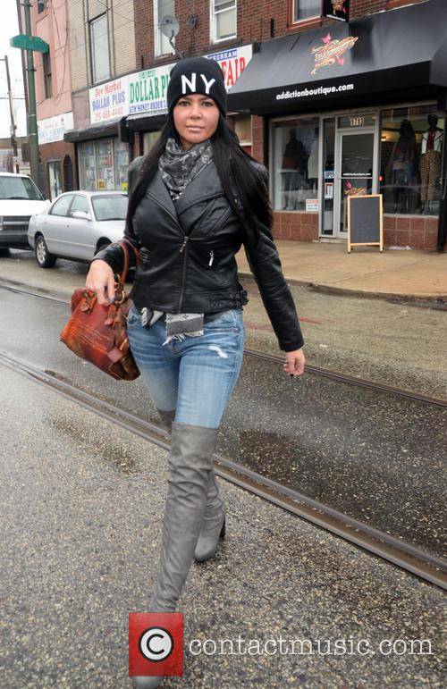 Alicia DiMichele walking in South Philly