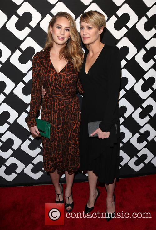 Dylan Penn and Robin Wright
